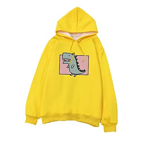 Pullover Damen FrüHling Und Herbst Kapuze Plus Velvet Loose Plus Size Trendy Studentenjacke