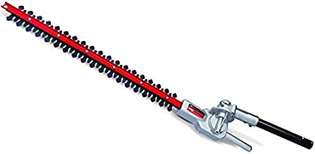 TrimmerPlus TPH720 22-Inch Dual Hedger Attachment Capable String Trimmers, Polesaws, and Powerheads-Snaps to Gas Outdoor Lawn Care Power Equipment, Black and Red