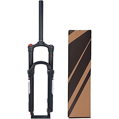 XQHD Horquillas De Suspensión para Bicicleta De Montaña Viaje 120mm,Horquilla Delantera MTB Control De Hombro Aleación De Magnesio Tubo Recto De 28,6 Mm,29inch
