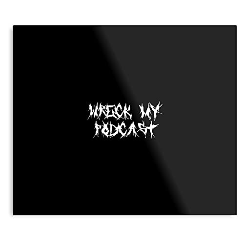 Póster de metal de My Wreck Death Font