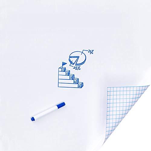 (Kupon Diskon 60%) Dry Erase Whiteboard Self-Adhesive Wall Decal $ 5.20
