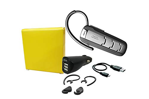 Jabra Extreme 2+ Noise Cancelling HD Bluetooth - Wireless Headset W/Wall-Car Charger - (Renewed)