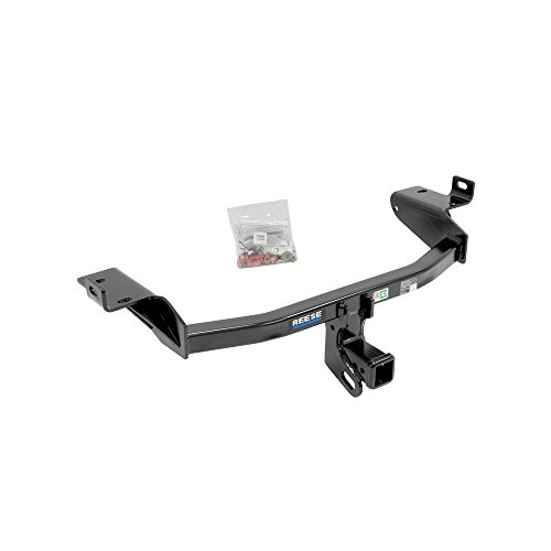 Reese Towpower 44765 Class III Custom-Fit Hitch with 2' Square Receiver opening, includes Hitch Plug Cover