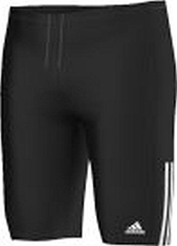 Adidas iNFinitex 3–Stripes Maillot de Bain Long, Noir/Blanc, 3 aA5794