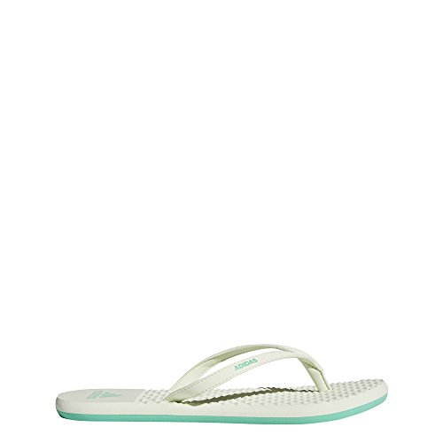 Adidas Eezay Soft W, Chanclas Mujer, Verde (Hi-Res Green S18/aero Green S18), 44 2/3 EU