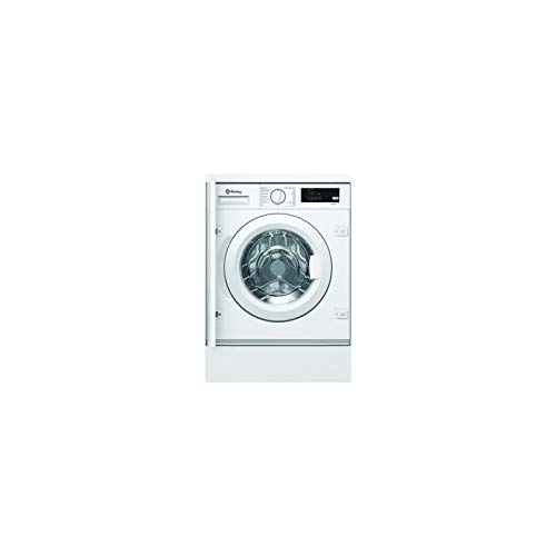 Lavadora carga frontal integrable Balay 3TI978B, blanco, 7 kg, 1200 rpm, A+++