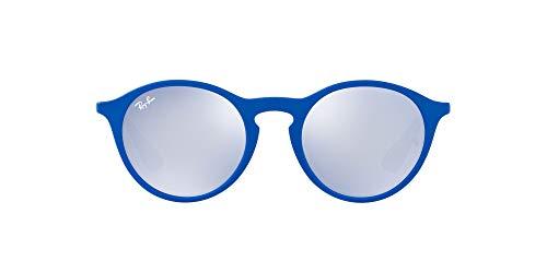 Ray-Ban RB4243-62631U Occhiali da Sole, Blu (Azul Goma), 49 Unisex-Adulto