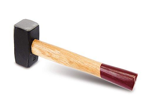 1.0kg Fäustel mit Holzstiel Schlosser-Hammer GS gepr.