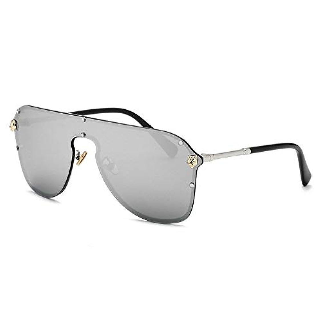 本焦がすスラダムJPYLY 耐久性 優れた ファッション サングラス サングラス 大きなフレームゴーグルサングラスサングラス (Size : B)
