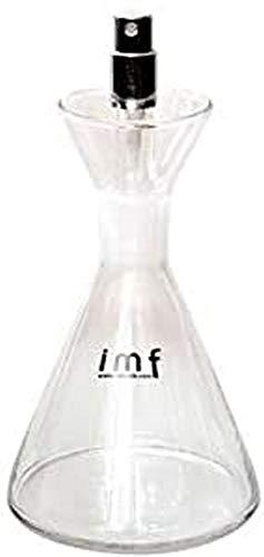 imf Aceitera Vinagrera Cónica con Dosificador Spray, Glass, Multicolor, 250 ml