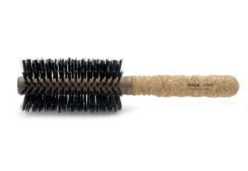 Ibiza Hair EX3 Extended Cork Round Brush, Medium