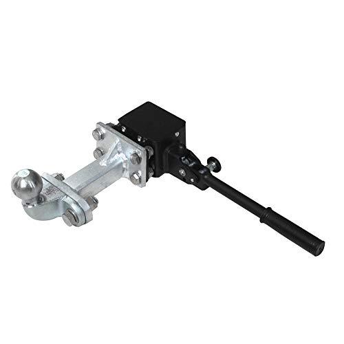 Irondo® Adapter für Fahrradträger für Kugelkopfkupplung Wohnmobil PKW Kastenwagen AHK Verlängerung Anhängerkupplung