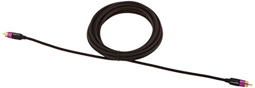 AmazonBasics Subwoofer Cable - 4.6 meters