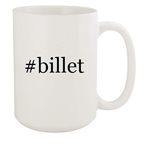 #billet - 15oz Hashtag White Ceramic Coffee Mug