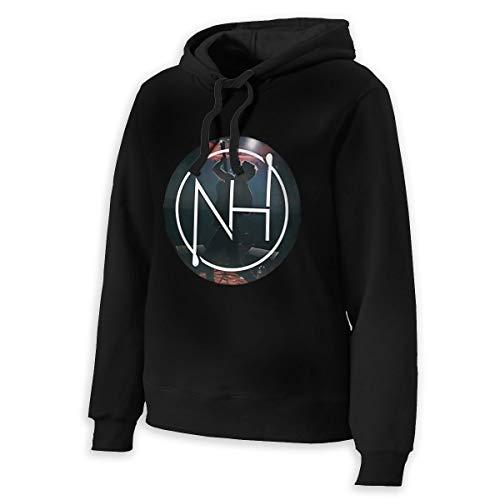 ELEANORSIMPSON Niall Horan Womens Hooded Sweatshirt Women's Loose Hoodie Hooded M Black
