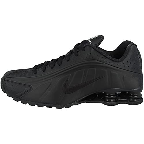 Nike Shox R4, Zapatillas de Atletismo Hombre, Negro (Black/Black/Black/White 44), 41 EU