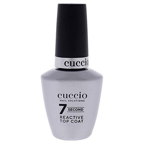 Cuccio Nail Solutions, Top Coat réactif Super 7 Seconds 13 ml