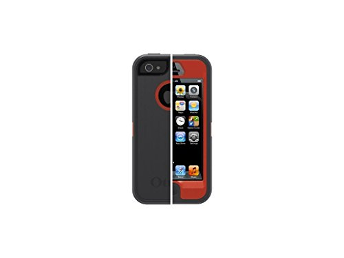 OtterBox-Defender Series, Custodia protettiva per iPhone 5, motivo: vite