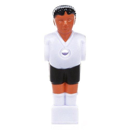 Blanco R Jugador de futbol Hombre de futbolin TOOGOO