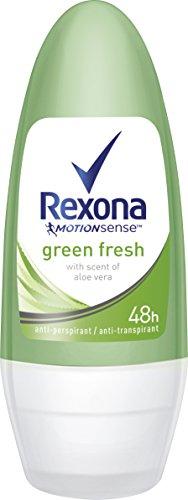 Rexona Deo Roll-on Green Fresh Anti-Transpirant, 6er Pack (6x 50 ml)