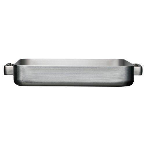 Iittala Tools - Ofenbra?TER Gross - 41 x 37 x 6 cm - Gebürsteter Edelstahl