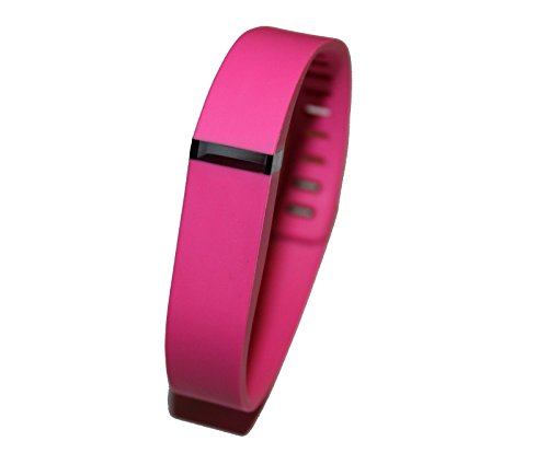 JSP 1pc Small Pink Wrist Band For Fitbit Flex Bracelet (With Clasp , No Tracker) Replacement Bands Wireless Fitness Accessories Tracking Exercise Sport Activity