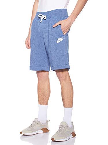 Nike Sportswear, Shorts Uomo, Indigo Force/Htr/Sail, S