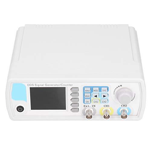 Generador de señal de forma de onda arbitraria de doble canal JDS6600-50M Medidor de frecuencia de señal de pulso Generador de funciones AC100-240V(EU regulations)