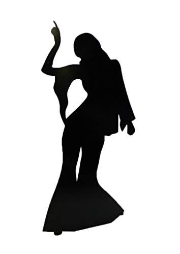 STAR CUTOUTS - Stsc108 - Figurine Géante - Silhouette Danseuse 180 Cm