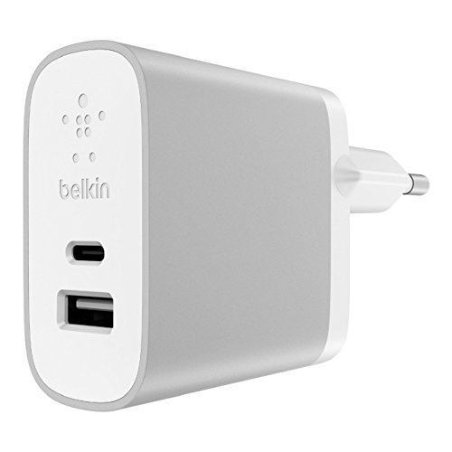 Belkin oplader, Android Home, Conventioneel opladen, 15 W + 12 W, zilver