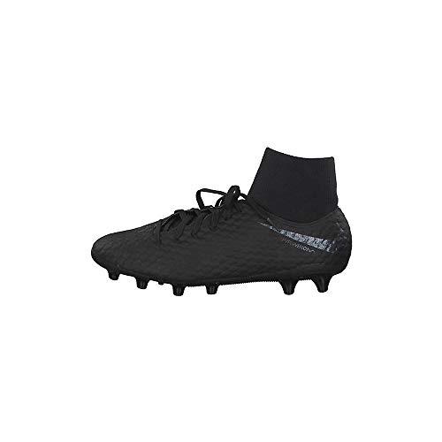 Nike Unisex-Erwachsene Hypervenom 3 Academy Df Ag-pro Sneakers, Schwarz (Black/Black 001), 42.5 EU