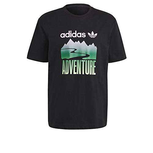 adidas GN2357 ADV Mount Tee T-Shirt Uomo Black M