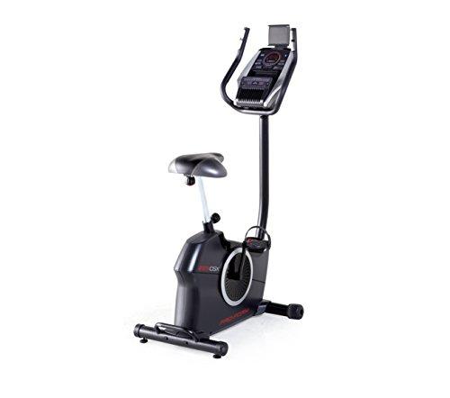 ProForm Heimtrainer-225 CSX ,20 Workouts und 20 Widerstands-Level , LED-Display mit Hintergrundbeleuchtung, Ventilator,Dual-Grip EKG , MP3-Anschluss, Lautsprecher-PFEVEX74914