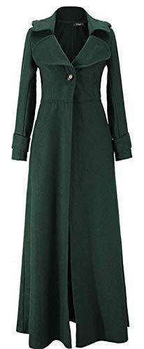 Adelina damesmantel parka trenchcoat elegante lange wol goede kwaliteit overgang lange mouwen modieuze completi wollen jas winterjas herfst