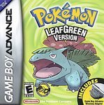 Pokemon Leaf Green (GBA)