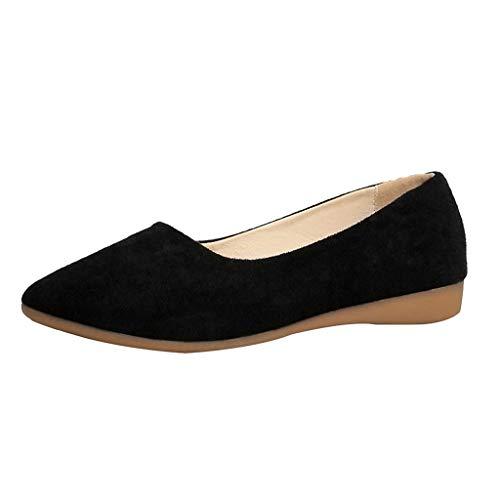 Brizz mutsschoenen, zachte eenkleurig, voor dames, comfortabele werkschoenen, kunst en wijs, vrouwen, teen, op schoen, normale lak, werkschoenen, erwten
