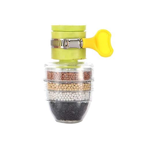 Bebliss Hochwertige Einstellbare 6-lagige spritzwassergeschützte Dusche Küchenarmatur Wasser Sand Reinigung Wasserfilter Für Küche Dusche