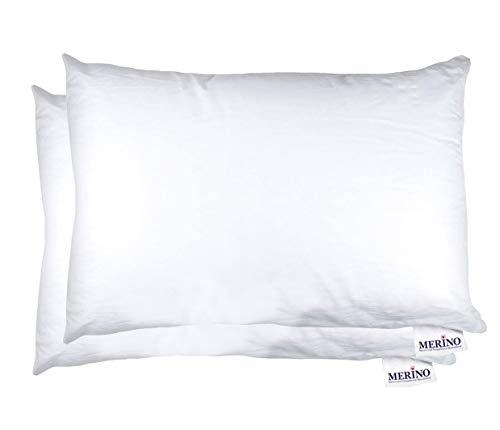 MERINO BETTEN Premium Kopfkissen 60x70 Set   Couchkissen   Kissenhülle ohne Reißverschluss   Serie Standard