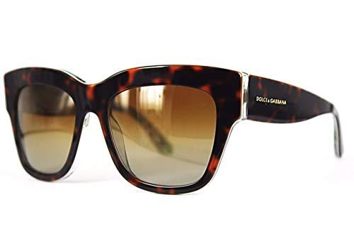 Dolce&Gabbana Sonnenbrille DG4231 54mm polarisiert braun damen