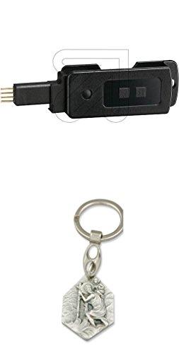 Paladin Datenschlüssel DK pro mit Anhänger Hlg. Christophorus