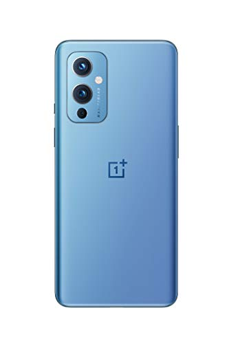 ONEPLUS 9 5G SIM-freies Smartphone mit Hasselblad-Kamera für Smartphones - Arctic Sky 8GB RAM 128 GB - 2 Jahre Garantie - 2