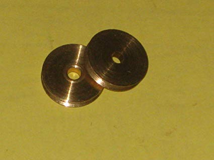 Seilrollen Messing von 14 ,18 oder 20 mm Durchmesser für 3 mm Seil 1 Stück (18 mm MB 4015-18)