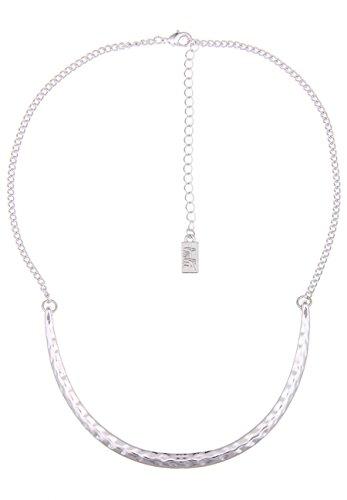 Leslii Kurze Silber-Hals-Kette Halsreif-en Silberne Damenkette Designerschmuck