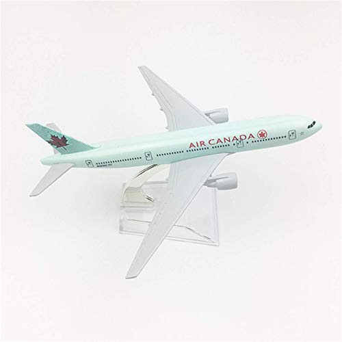 FGDSA Toy Aircraft Model Aircraft Model Alloy Static Ornaments 16cm Air Canada Boeing 777