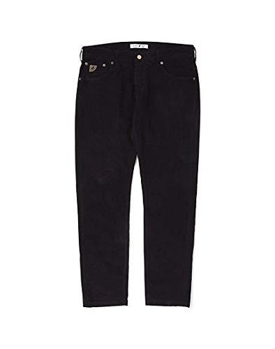 Lois Mens Sierra zwarte naald Corduroy broek W32 L32