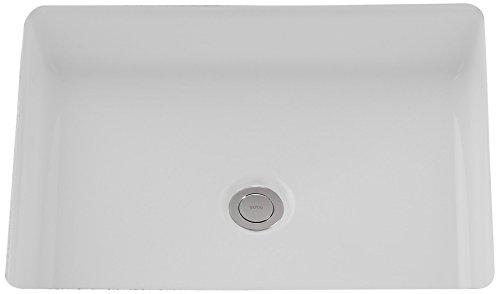 TOTO LT221#01 17 X 13 Rectangular UC LAV Inch, Cotton White
