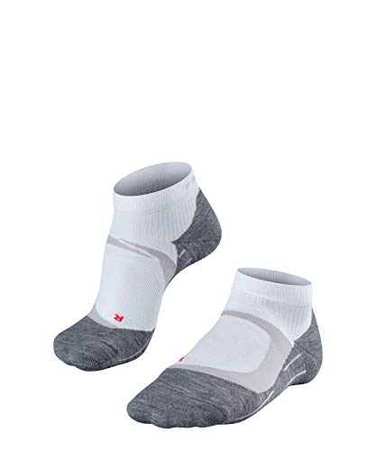 FALKE Damen, Laufsocken RU4 Cool Short Funktionsfaser, 1 er Pack, Weiß (White-Mix 2020), Größe: 39-40