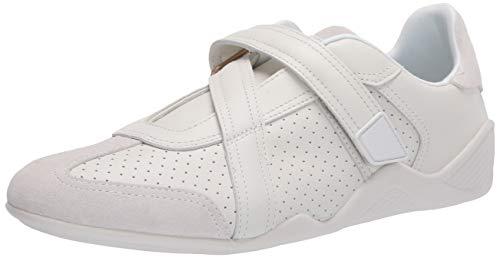 Lacoste Women's Hapona Strap Sneaker, White/Off White, 10 Medium US