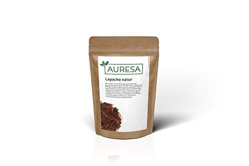 AURESA Kräutertee Lapacho natur | Süß-erdiger Geschmack ähnlich dem Rooibos | Tee aus der Rinde des Lapacho Baumes
