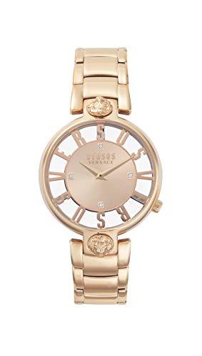 Versus Versace Kirstenhof zegar 36 mm bransoletka różowe złoto